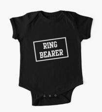Ring Bearer Box One Piece - Short Sleeve
