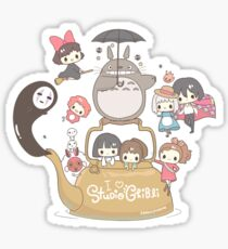 Studio Ghibli Friends Sticker