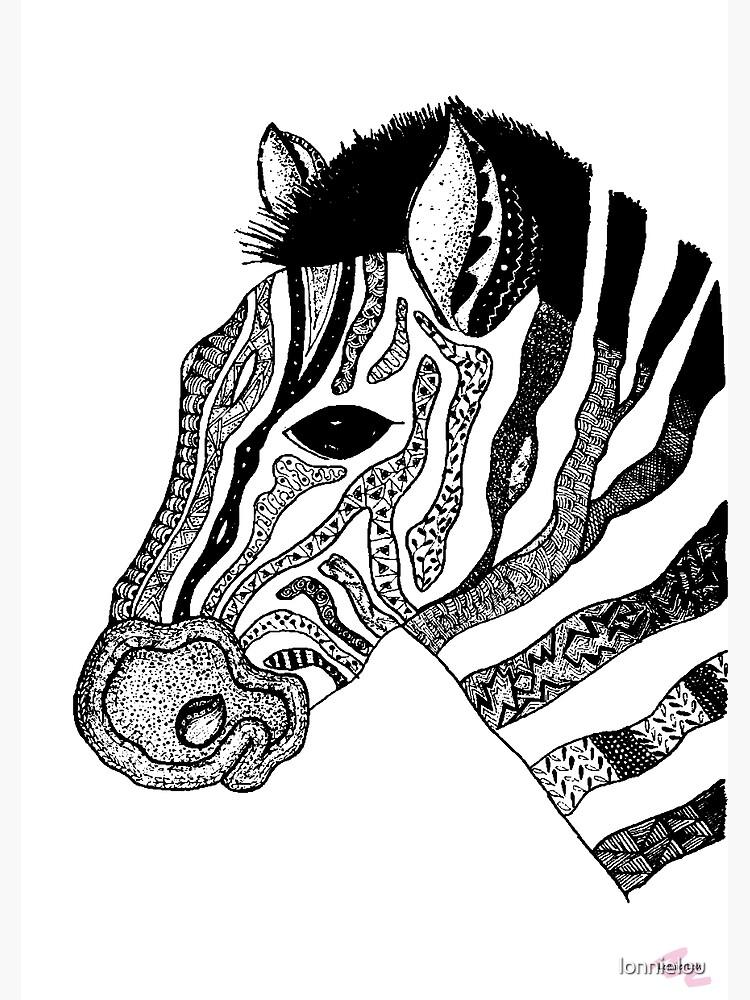 Oreo the Zabra by lonnielou