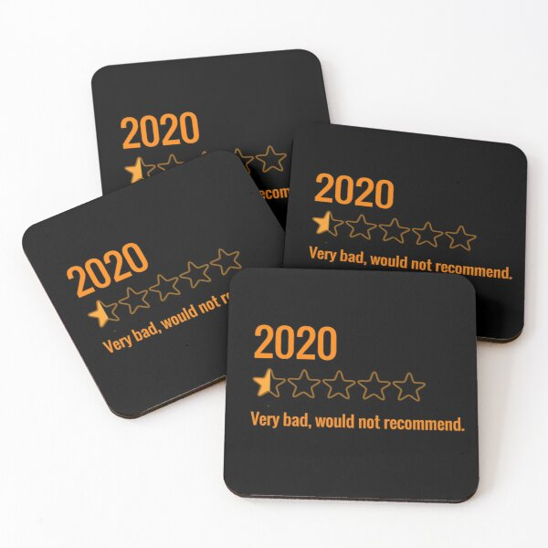 2020 review Coasters (Set of 4)