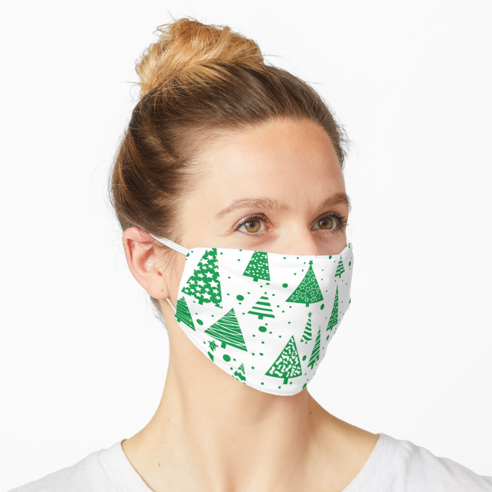 O Christmas Tree  Mask