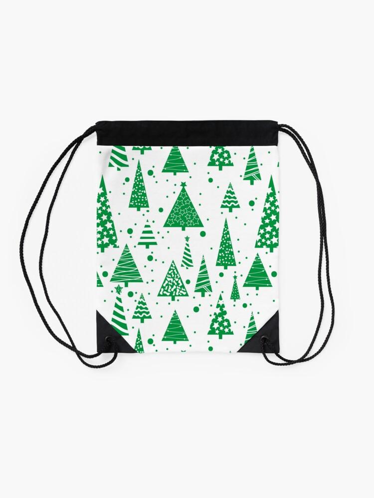 Alternate view of O Christmas Tree  Drawstring Bag