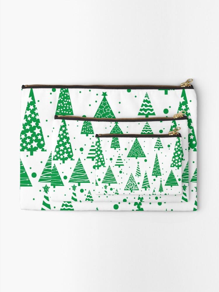 Alternate view of O Christmas Tree  Zipper Pouch