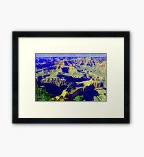 Grand Canyon... South Rim Framed Print