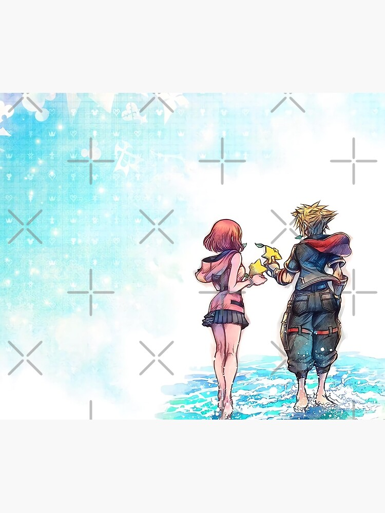 Kingdom Hearts 3 Re:Mind - Title Screen Art by Joader