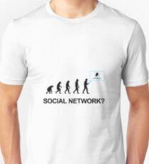 Evolution of social network Unisex T-Shirt