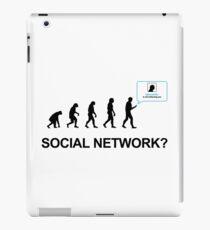 Evolution of social network iPad Case/Skin