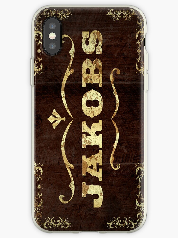Jackobs Phone Case by The Flaming  Potato