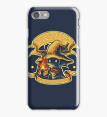 Strong Independent Black Mage iPhone Case/Skin