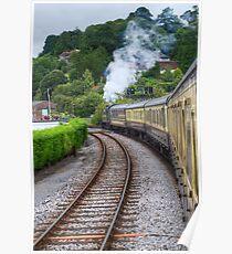 Paignton to Dartmouth Railway Poster