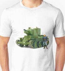 BT-42, Finnish Battle Tank Unisex T-Shirt