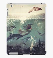 The Sea Unicorn Lady iPad Case/Skin