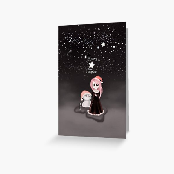 Black Xmas: A Merry Gothic Christmas Greeting Card