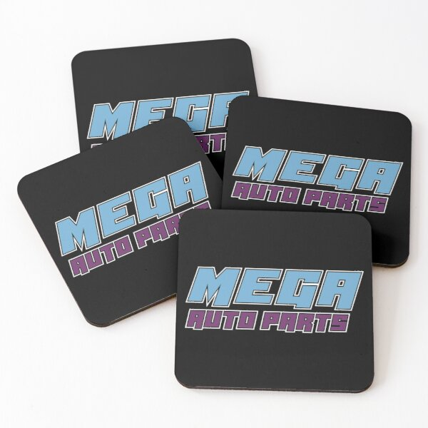 MEGA Auto Parts Coasters (Set of 4)