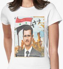 Still Standing - Syria Al Assad Women's Fitted T-Shirt