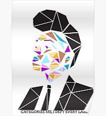 Janelle Monae Geometric Poster