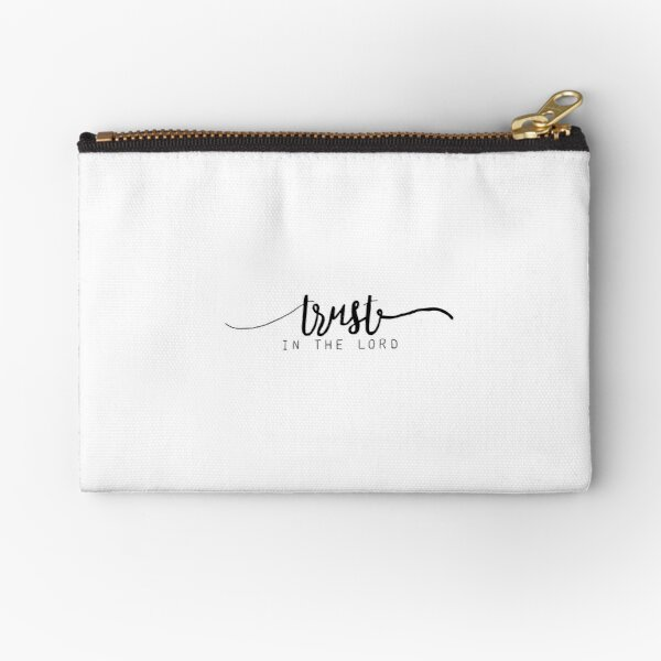 Trust in the Lord Zipper Pouch