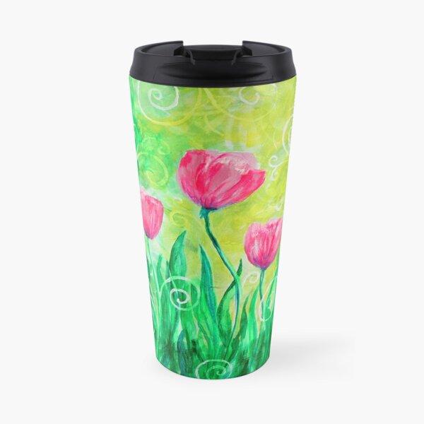 Dancing Tulips by Jan Marvin Travel Mug