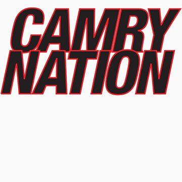 Camry Nation - Logo by JBezugly