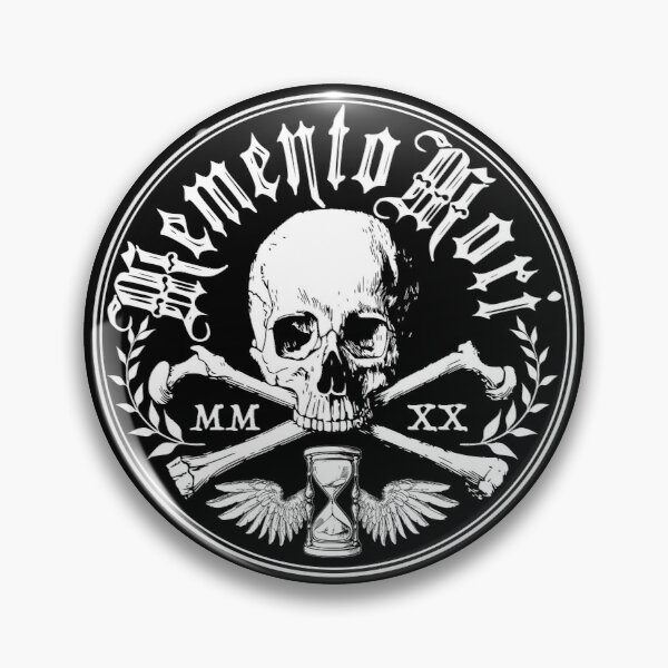 Memento Mori Pin