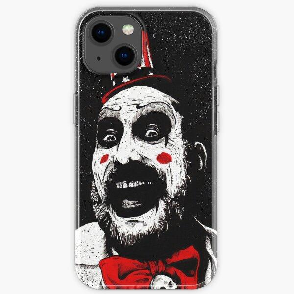 Killer Clown Family Man iPhone Soft Case