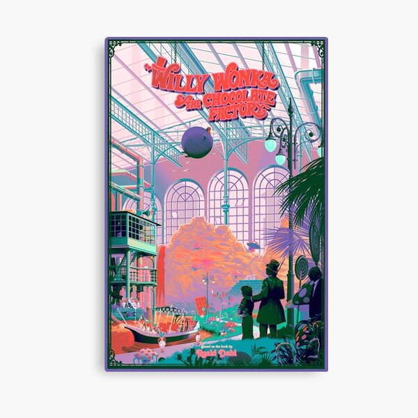 willy wonka & the chocolate factory  Canvas Print