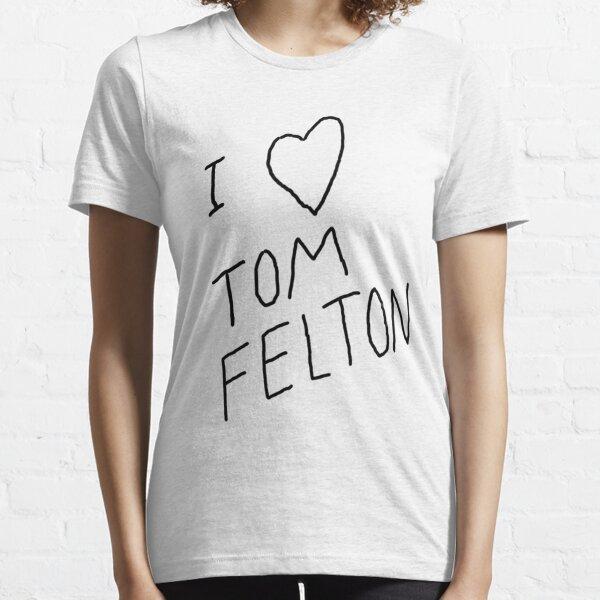 """Ich ❤ Tom Felton"" Replica Tee Essential T-Shirt"