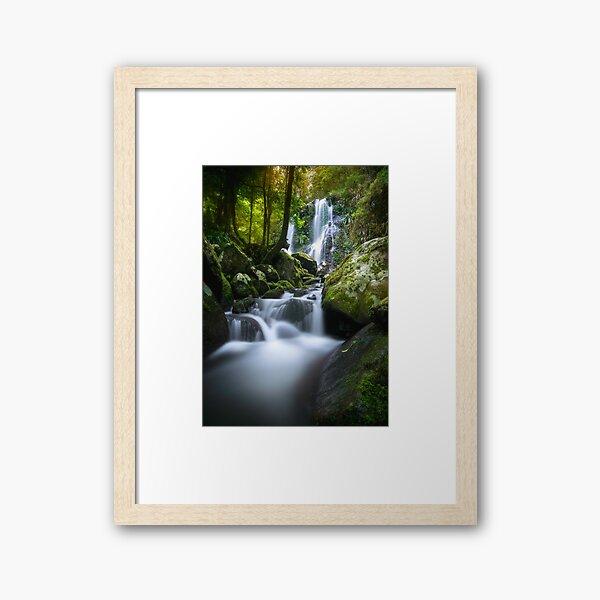 Chalahn Falls Framed Art Print