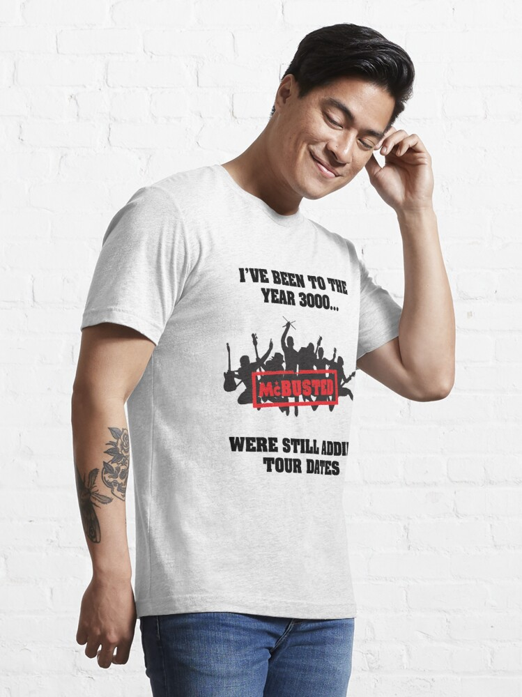 Alternate view of McBusted Tour 2014-3014 Essential T-Shirt
