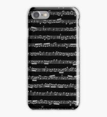Black & White Music iPhone Case/Skin