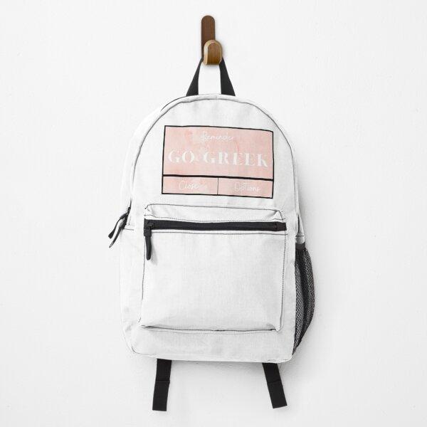 Greek Life Backpack