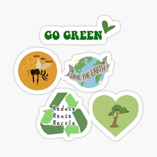 Environmental sticker pack 2 Sticker