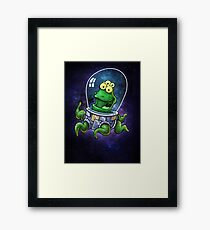 Friendly Alien Framed Print