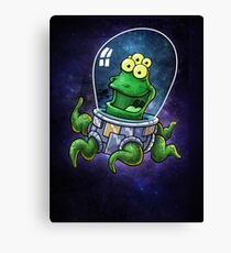 Friendly Alien Canvas Print