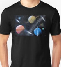 Spray Paint Space T-Shirt