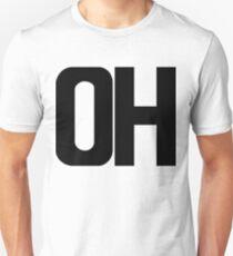 Ohio OH Black Ink Unisex T-Shirt