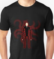 Slender Man - Red Glow Unisex T-Shirt