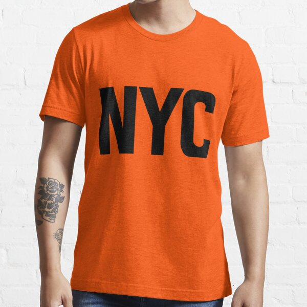 NYC New York City Black Ink Essential T-Shirt