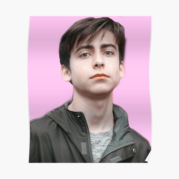 Aidan Gallagher - Academia Umbrella Five Hargreeves Póster