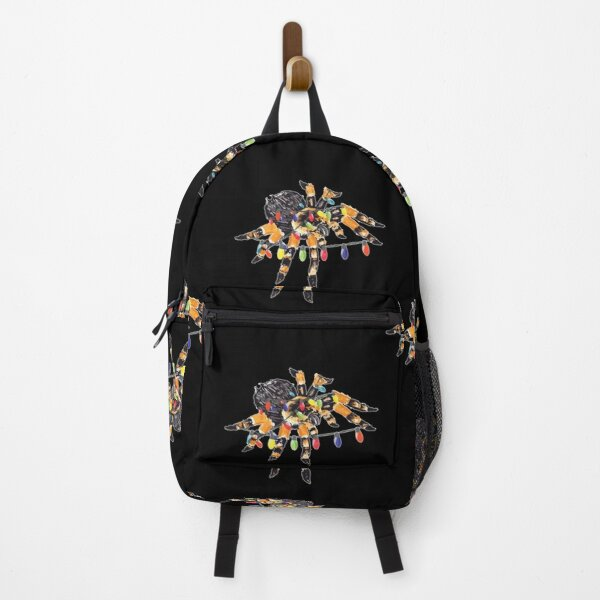 Tarantula Christmas Light Spider Insect Lover Cool Gifts Backpack