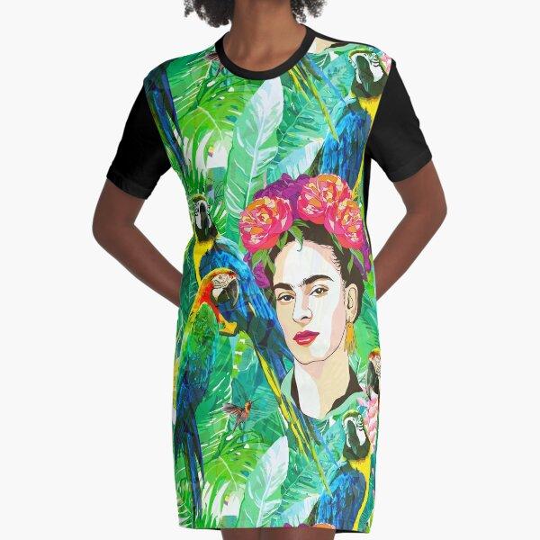 Frida in Flight, I Graphic T-Shirt Dress