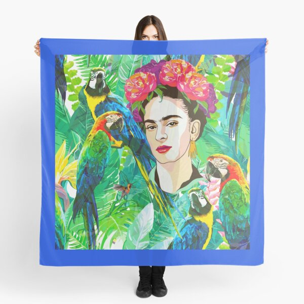Frida in Flight, I Scarf