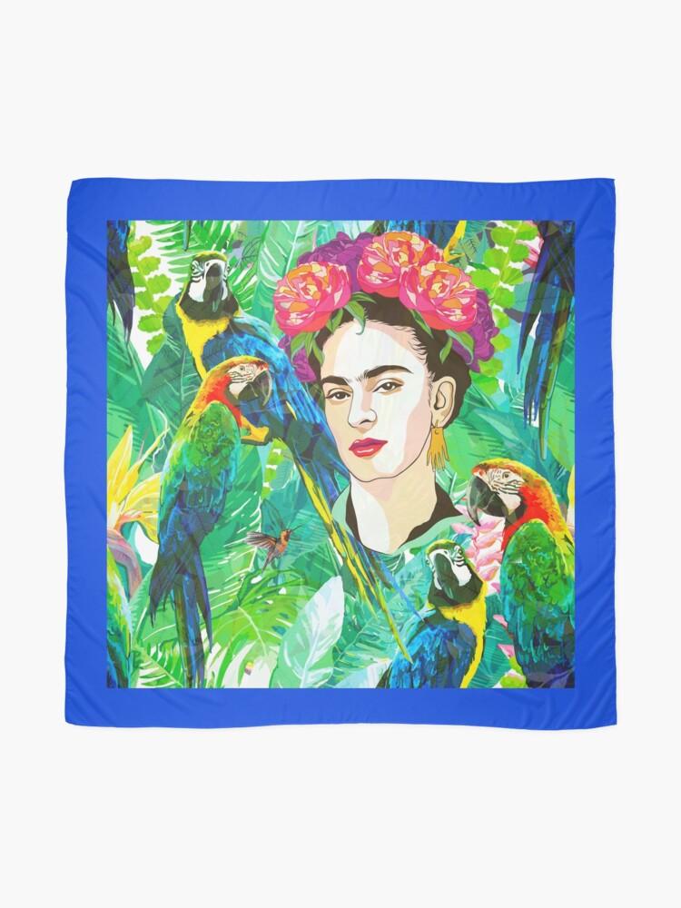 Alternate view of Frida in Flight, I Scarf