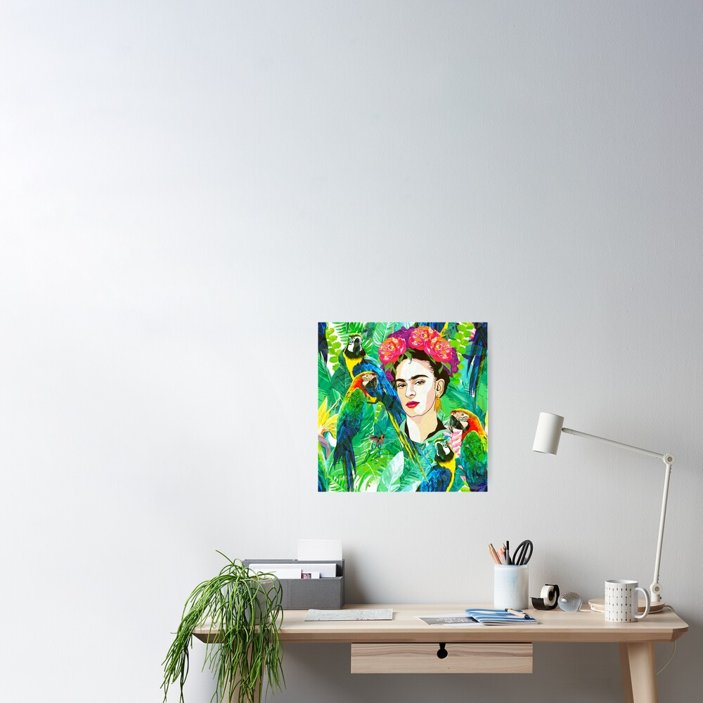 Frida in Flight, I Poster