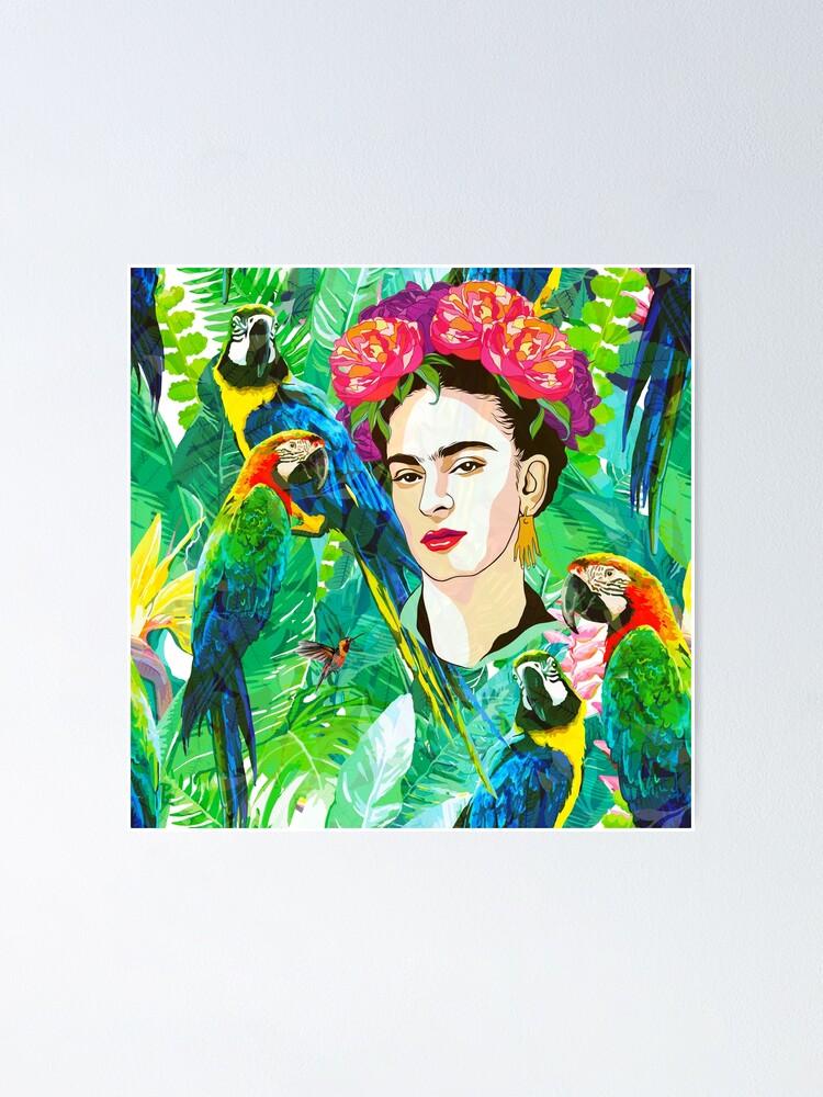 Alternate view of Frida in Flight, I Poster