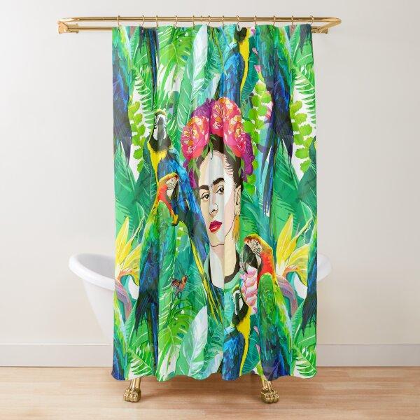 Frida in Flight, I Shower Curtain
