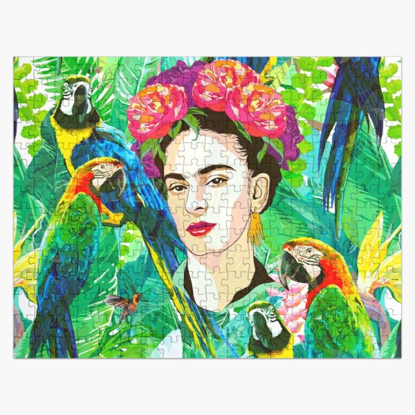 Frida in Flight, I Jigsaw Puzzle