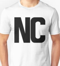 North Carolina NC Black Ink T-Shirt