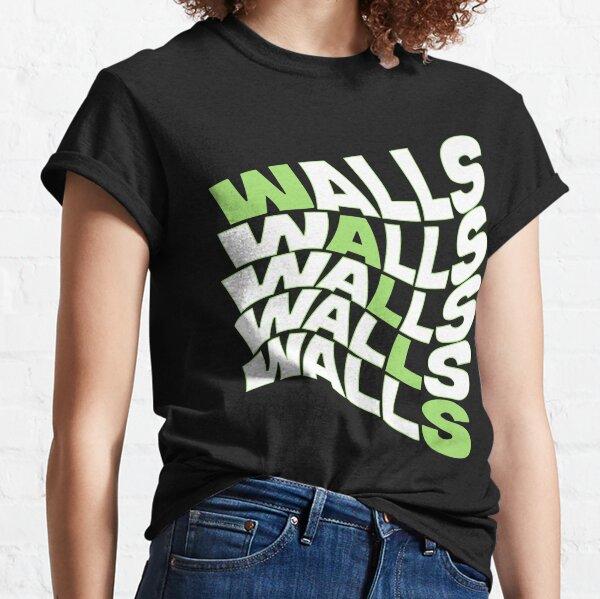 paredes louis tomlinson color raya verde Camiseta clásica