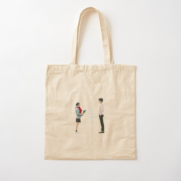 Goblin Kdrama scene at Jumunjin Beach  Cotton Tote Bag